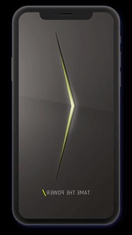 Bild eines Smartphones mit ANGEL-App