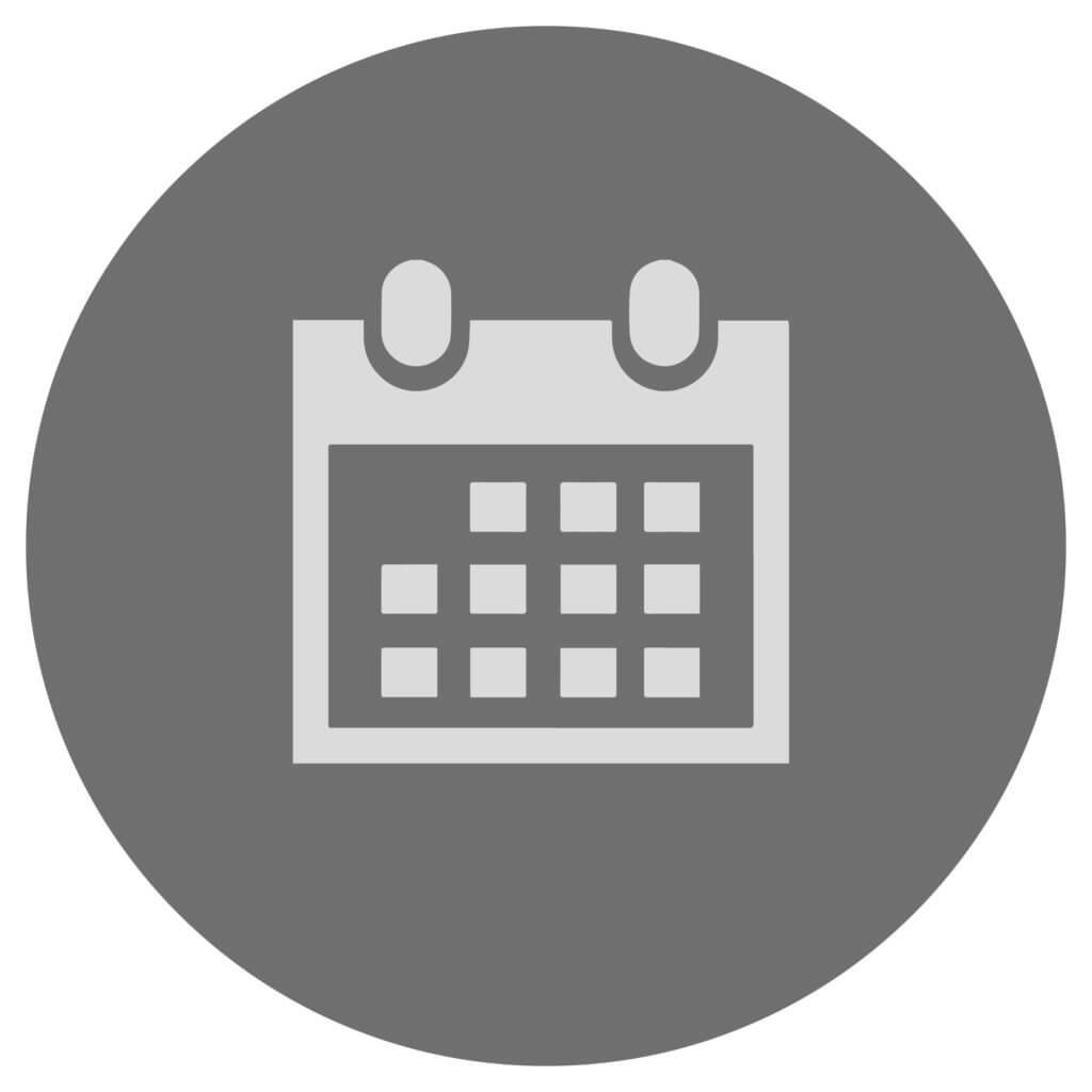 Icon für einen Kalender