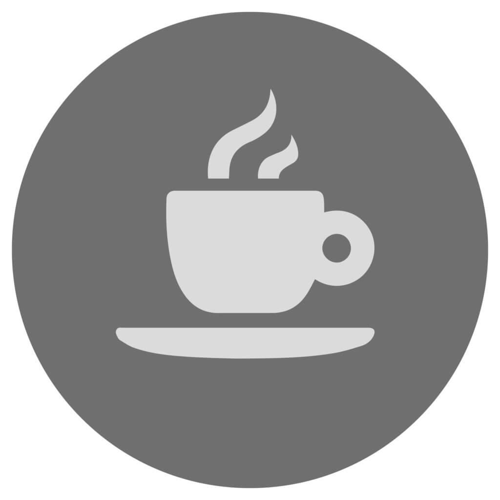 Icon für eine Kaffeetasse